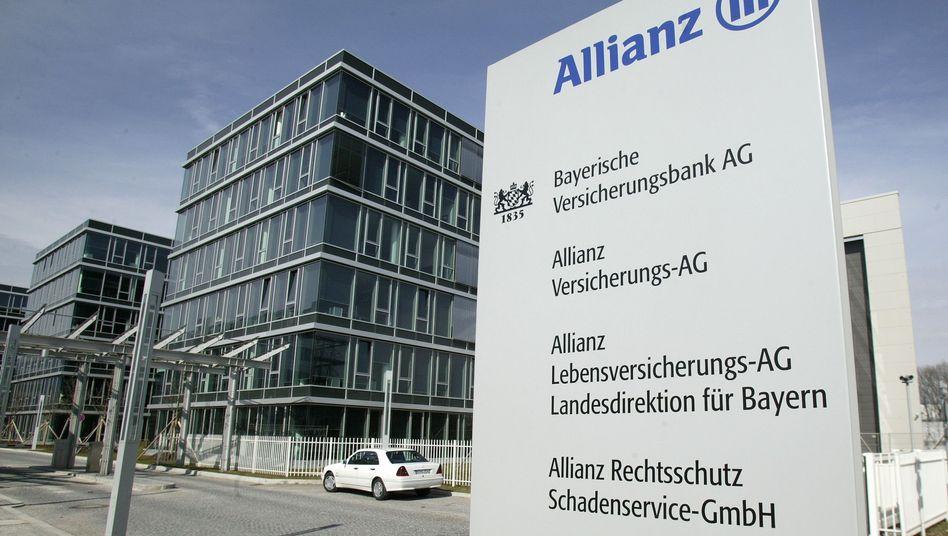 Allianz-Zentrale in München: Ein Mann hatte gegen den Konzern geklagt