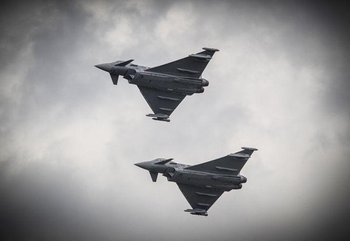 """Airbus-Kampfflieger """"Eurofighter"""""""