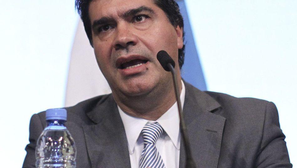 Argentiniens Kabinettschef Capitanich: BNYM hält vertragliche Verpflichtung nicht ein