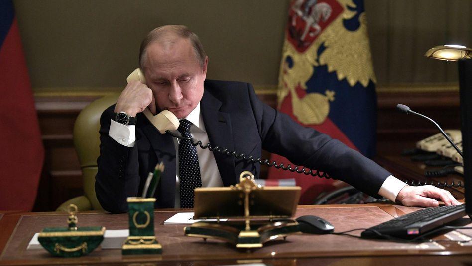 Russlands Präsident Wladimir Putin (Archivfoto)