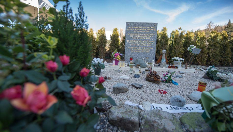 Gedenkstätte in Le Vernet, Frankreich