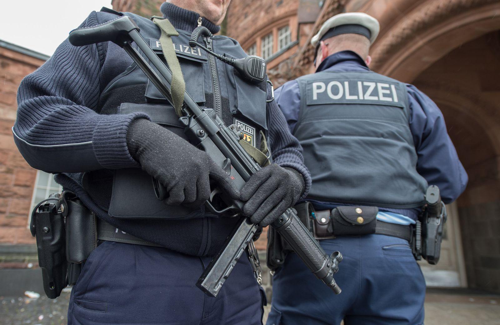 Polizei nimmt Verdächtigen in Gießen fest