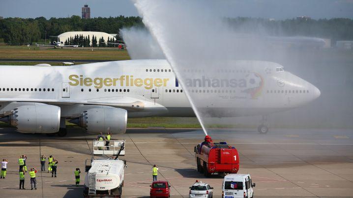 Rückkehr der DFB-Elf: Berlin feiert die Weltmeister