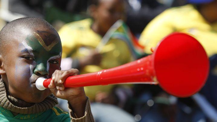 Vuvuzelas: Eine Tröte spaltet die Welt