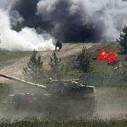 Machtdemonstration im Ural: 6500 Panzer im Manöver