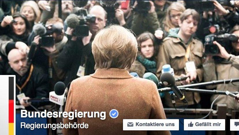 Facebook-Auftritt der Bundesregierung: Merkel wird netzkompatibel gemacht