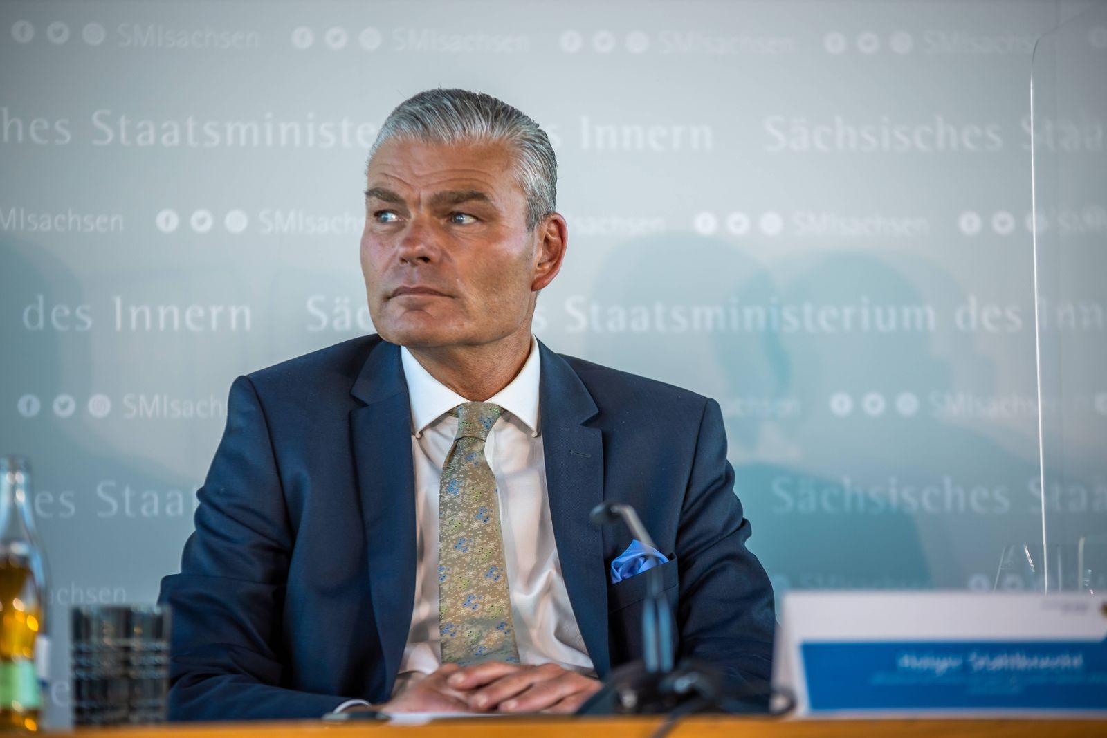 News Bilder des Tages Ostdeutsche Innenminister treffen sich zu Sicherheitskonferenz in Leipzig Die Innenminister von S