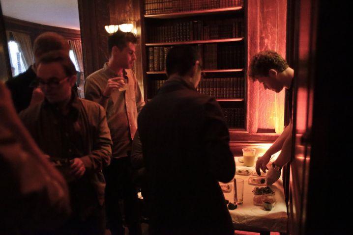 Jonah Reider in einer Experimentierküche