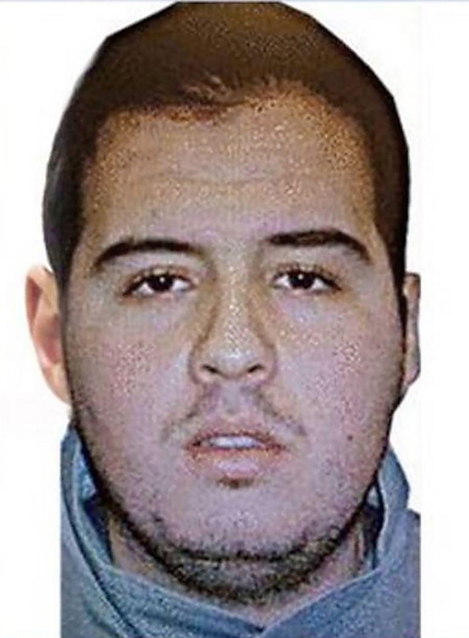EINMALIGE VERWENDUNG Brüssel / Attentäter / Ibrahim El Bakraoui