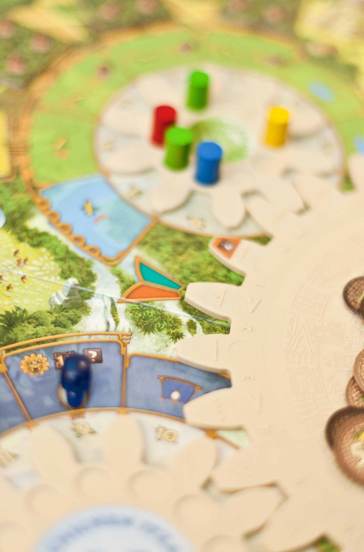 EINMALIGE VERWENDUNG Brettspiele 2012/ Tzolkin