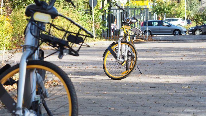 Obike: Unterwegs mit dem Fahrrad, das alle hassen
