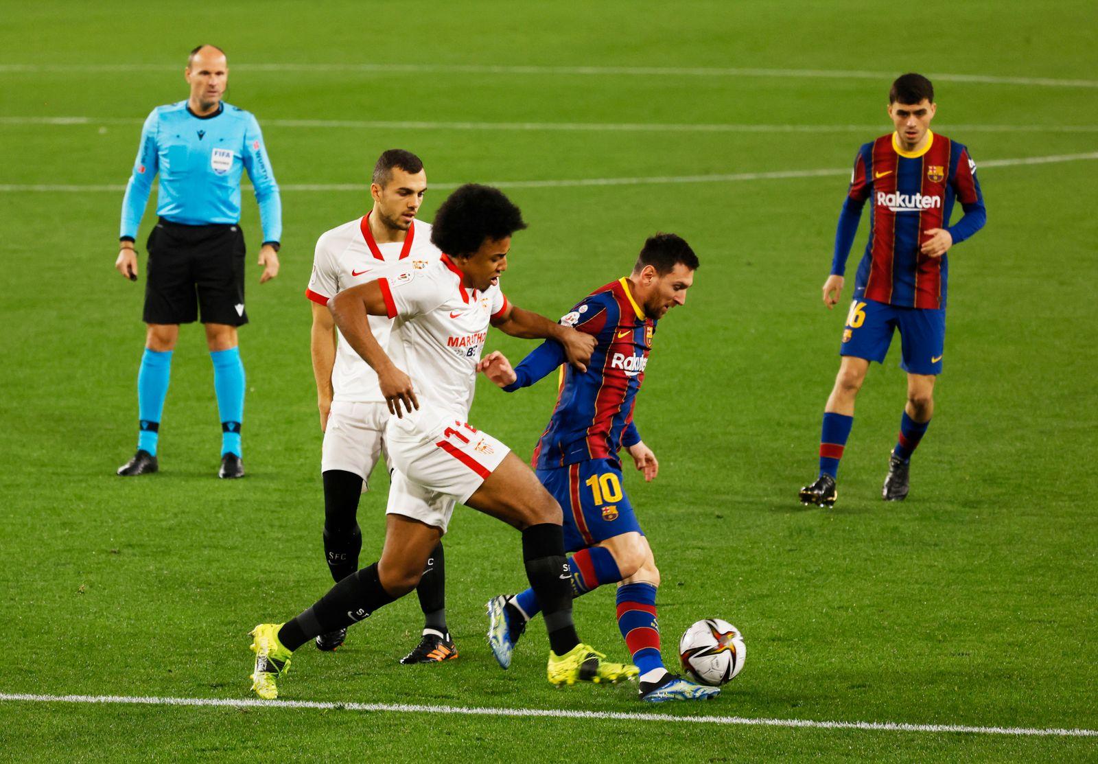 Copa del Rey - Semi Final First Leg - Sevilla v FC Barcelona
