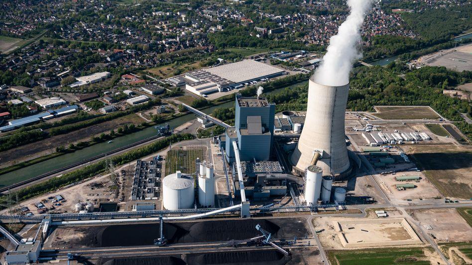 Das Kohlekraftwerk Datteln 4 des Betreibers Uniper