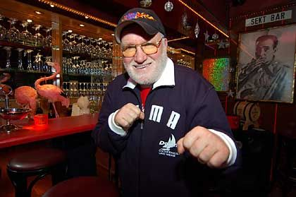 Even at 70, Hamburg legend Fascher, a former German boxing champion, is best not messed with. He was interviewed in his favorite restaurant, Hamburg's Old Commercial Room.