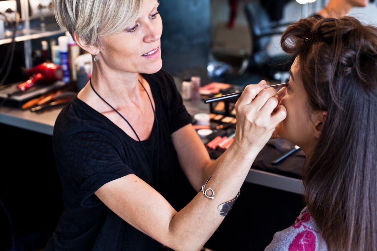 Make-up-Artistin Louise Wittlich