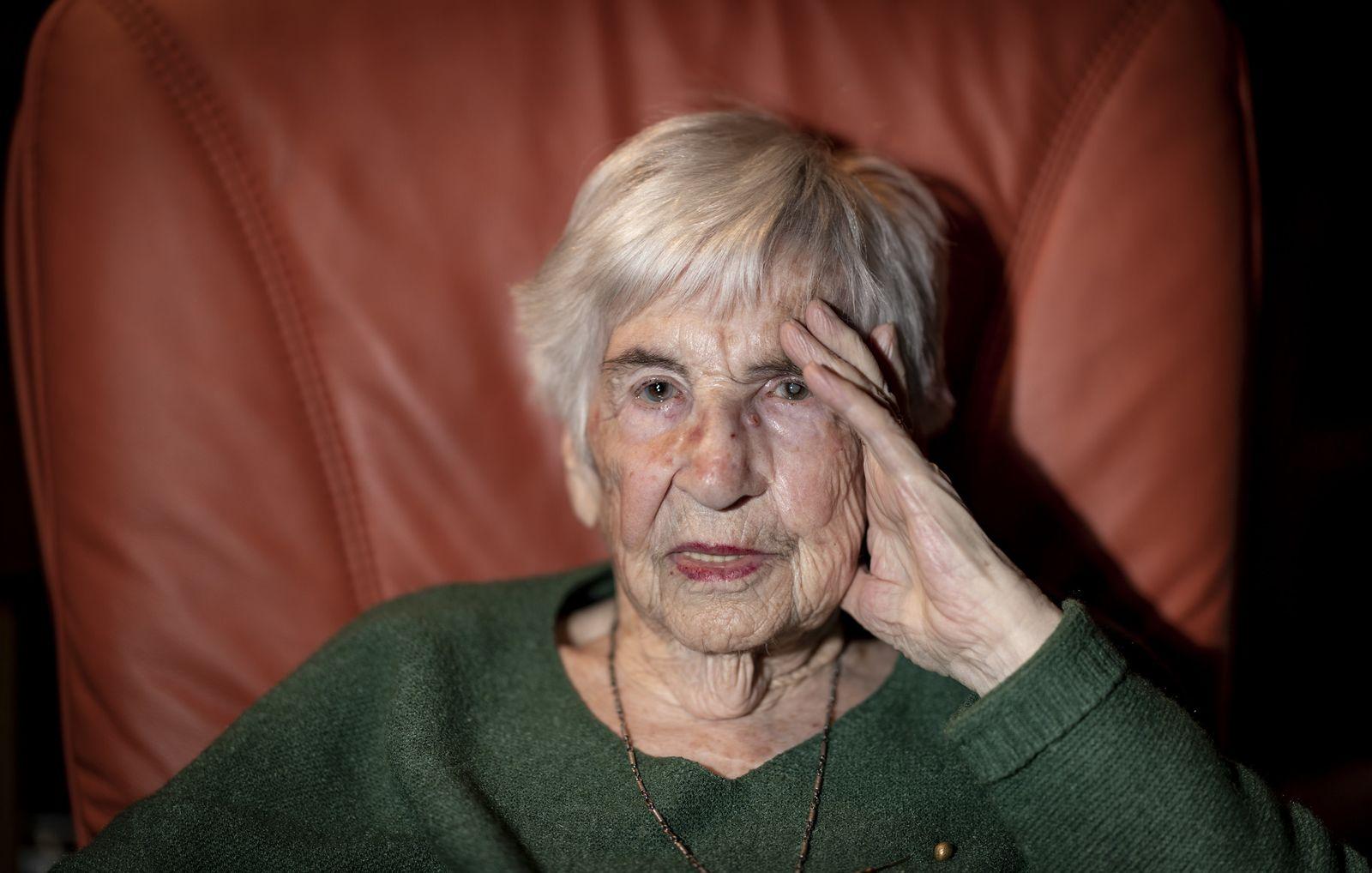 Esther Bejarano - Gedenken an Auschwitz-Befreiung