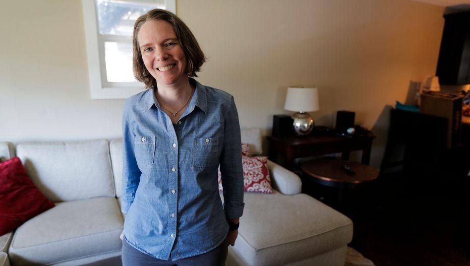"""Jennifer Haller kurz nach der ersten Impfung: """"Endlich eine Gelegenheit, selber etwas zu tun"""""""