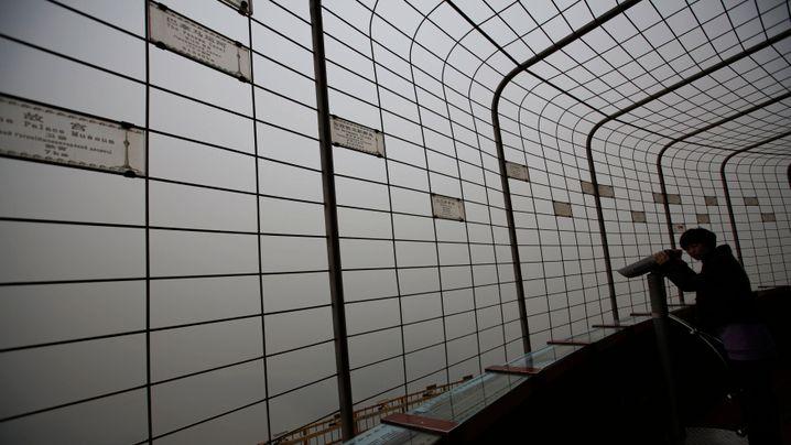 Smog in Peking: Dicke Luft