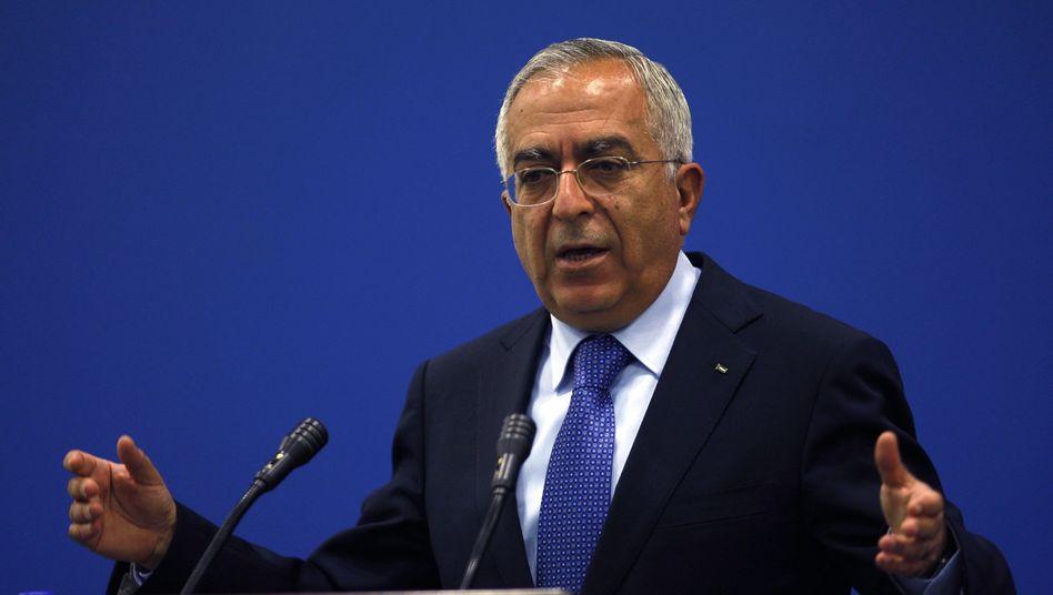 Fajad bei Auftritt in Ramallah am 2. Mai: Infarkt bei Abschlussfeier des Sohnes