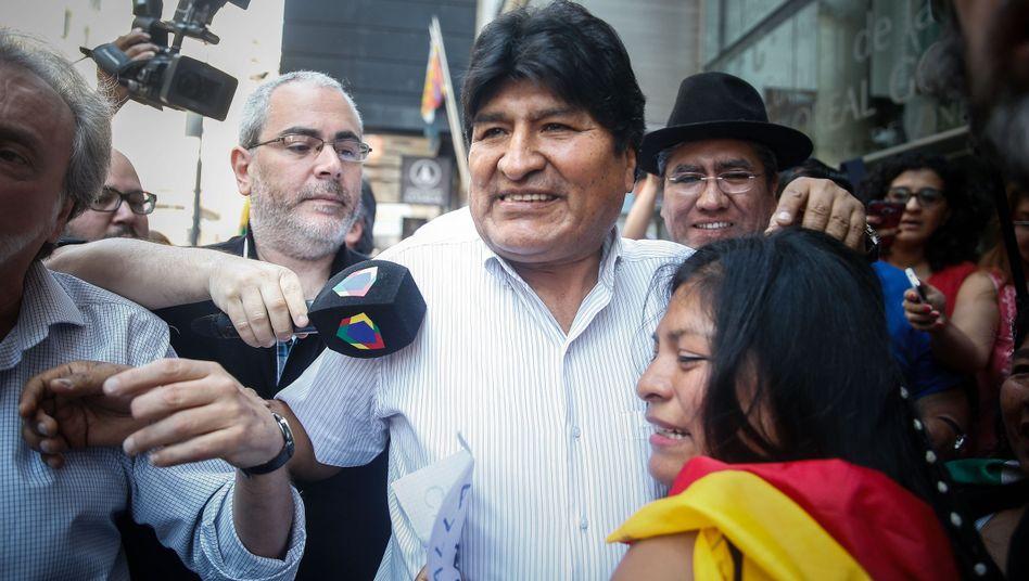 """Evo Morales (in Buenos Aires): """"Illegal, unfair und verfassungswidrig"""""""