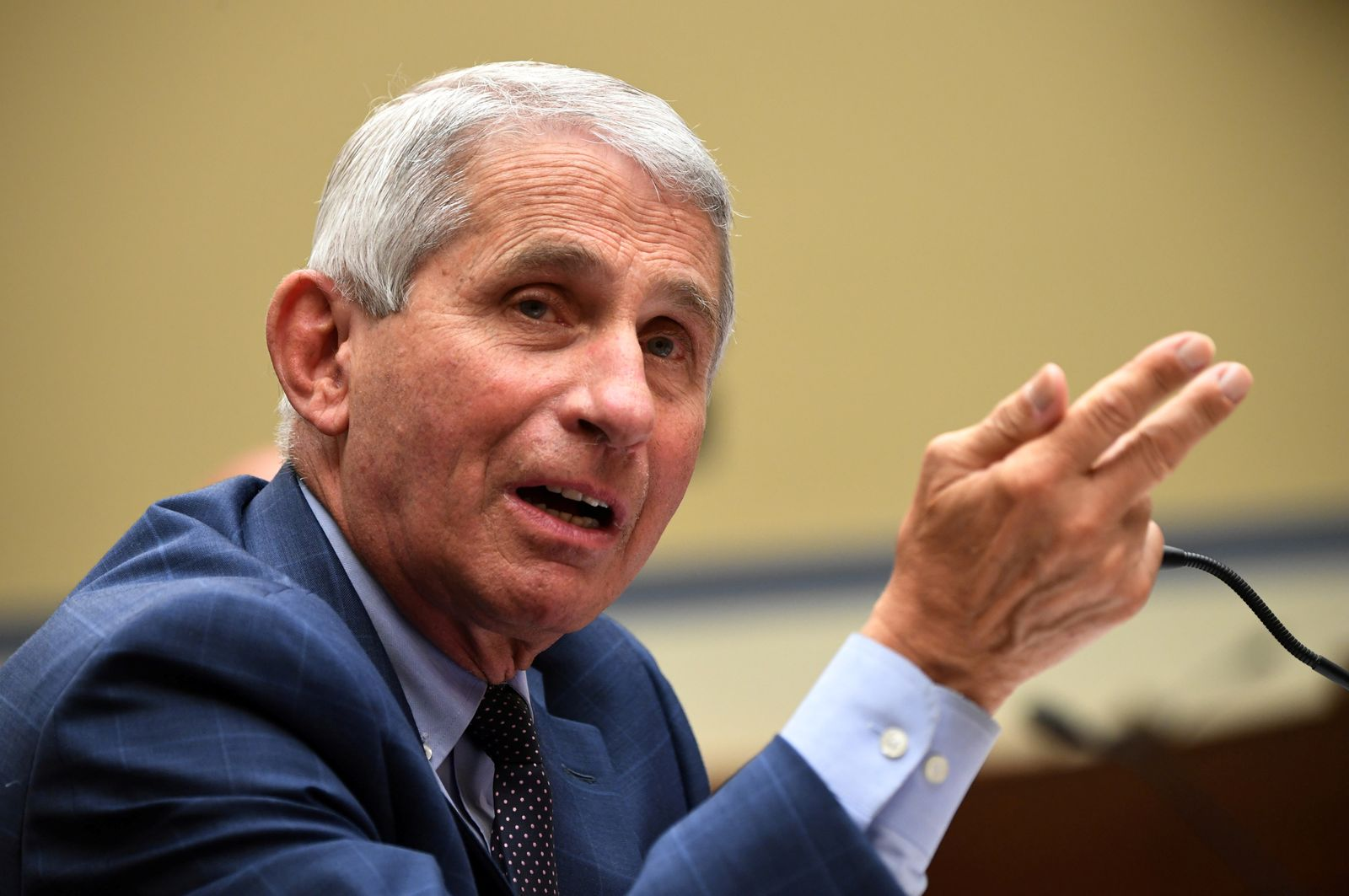 FILE PHOTO: Fauci testifies before coronavirus panel