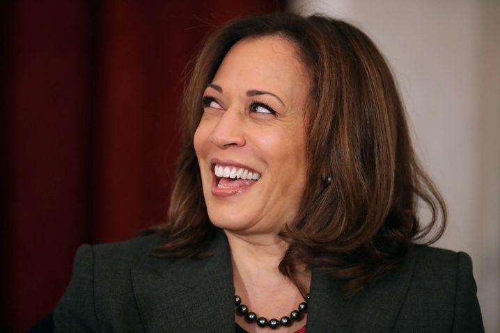Joe Biden will mit ihr ins Weiße Haus ziehen: Vizepräsidentenkandidatin Kamala Harris