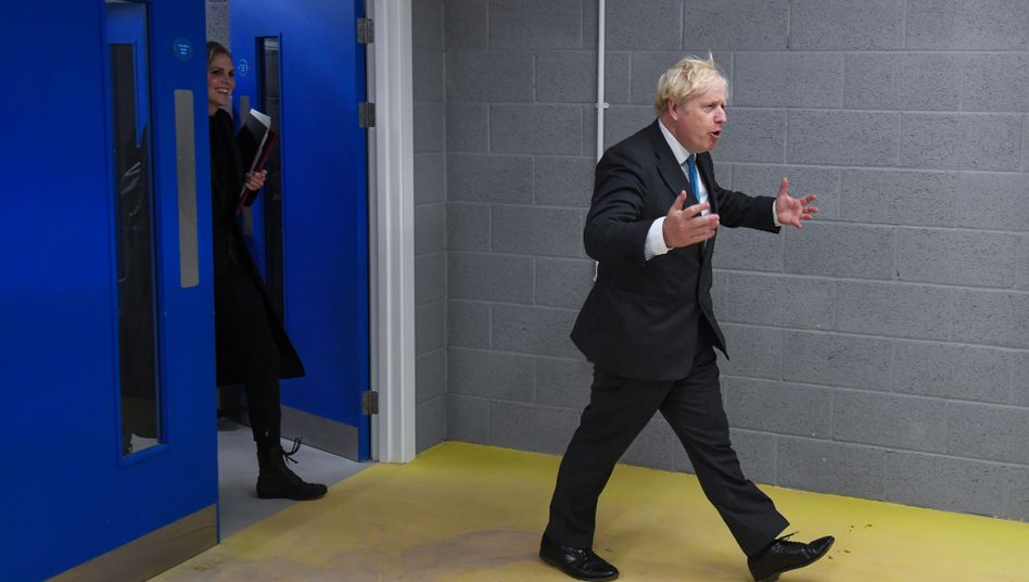 """Prime Minister Boris Johnson: """"A new act in our great national drama."""""""