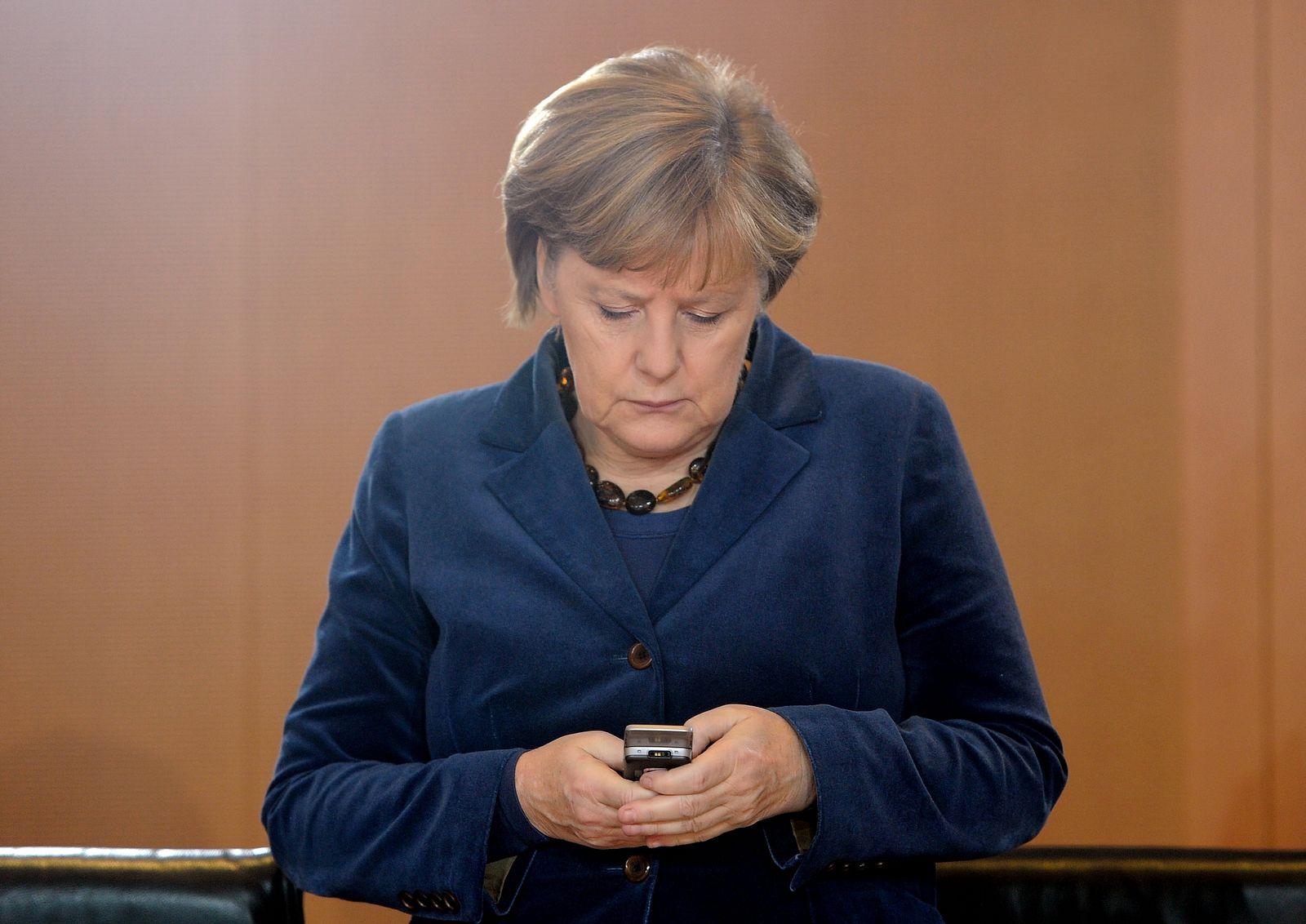 NICHT VERWENDEN Merkel / Handy