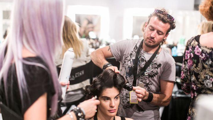 Friseure auf der Fashion Week: Ein Feeling wie in der Großküche