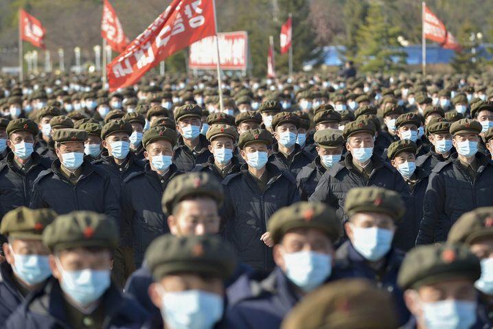 In Nordkorea soll es angeblich noch keinen einzigen Corona-Fall gegeben haben