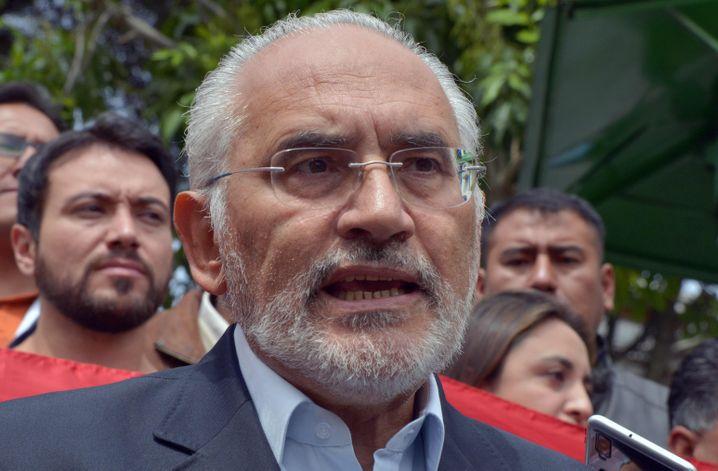 Carlos Mesa: Ihm ist die Kontrolle über die Protestbewegung entglitten
