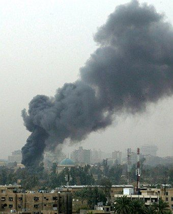 The Green Zone in Baghdad has been under attack.