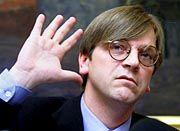 Im Wahlkampf: Belgiens Regierungschef Guy Verhofstadt
