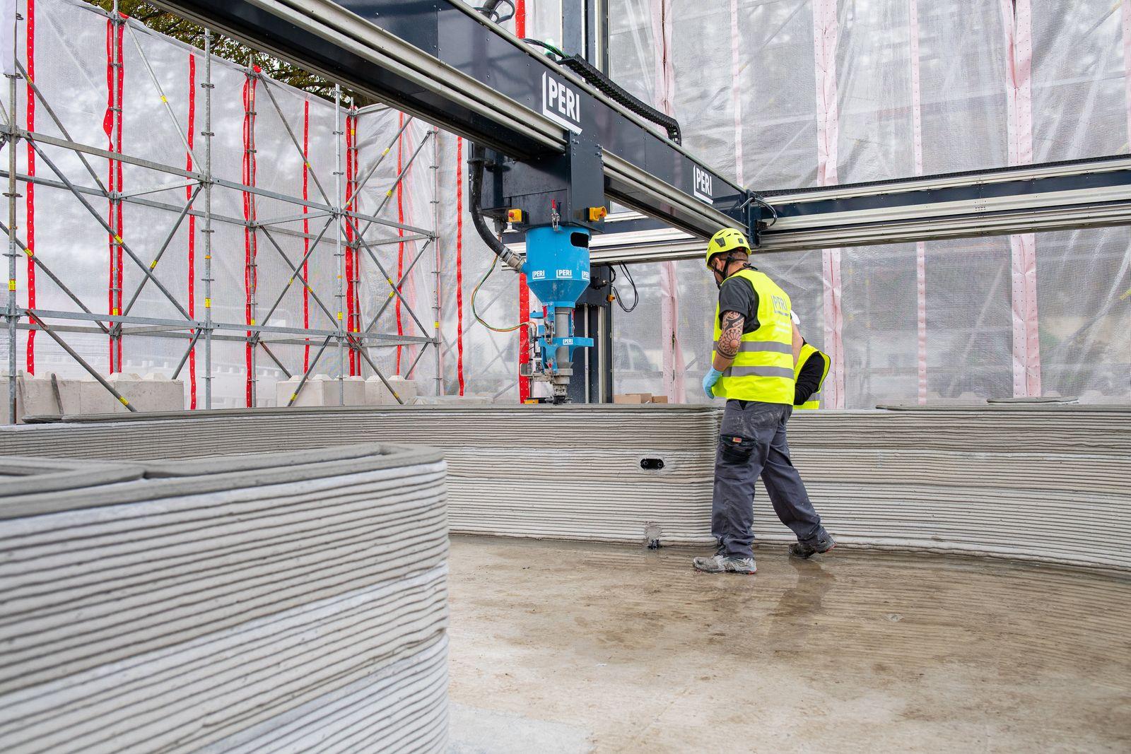Erstes 3D-Druck-Wohnhaus in Deutschland