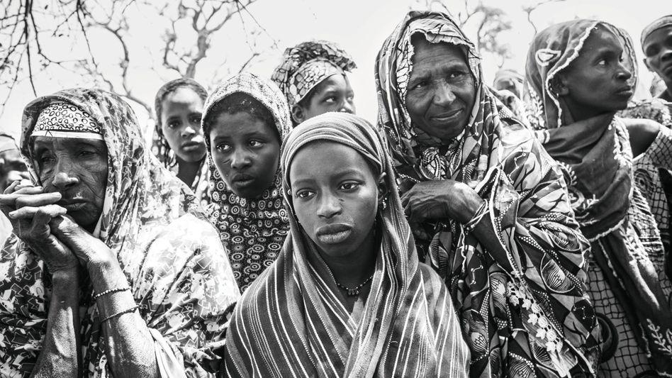 Bewohnerinnen in Ogossagou