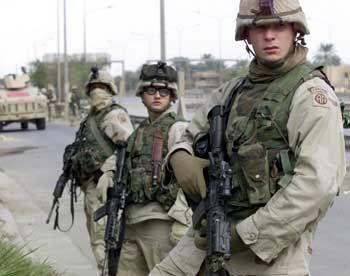 US-Soldaten im Irak: Schockierende Gleichsetzung