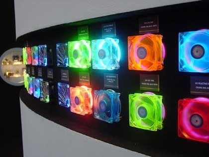 Lüfterparade: Hersteller machen gute Geschäfte mit Case-Moddern