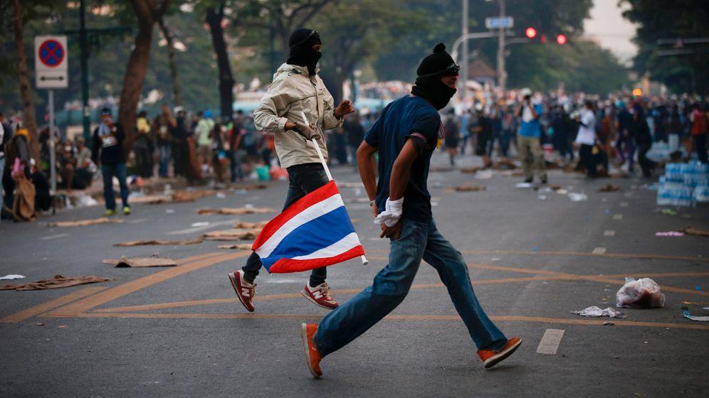 Proteste in Bangkok: Aufgeheizte Stimmung in Thailand