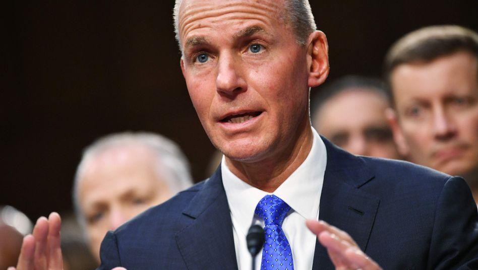 Ex-Boeing-Chef Dennis Muilenburg: Krise hat Ruf des Konzerns beschädigt
