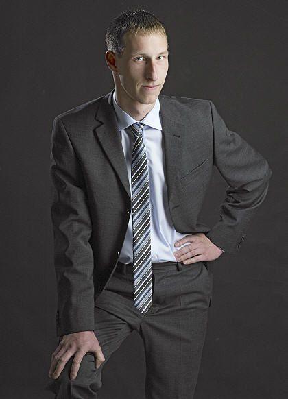 Daniel Brühl, 26, Chemieingenieurwesen-Student aus Ibbenbüren bei Osnabrück
