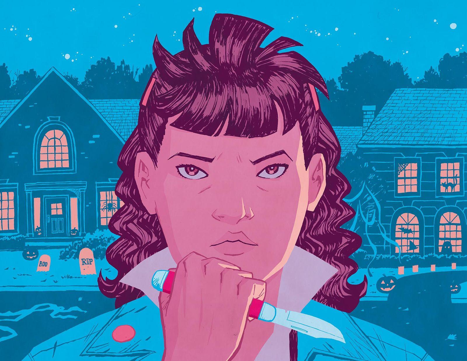 EINMALIGE VERWENDUNG Kultur/ Comics/ Paper Girls