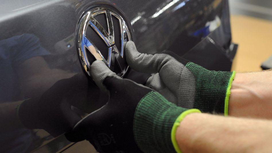 VW-Produktion in den USA. In den Staaten begann die Abgasaffäre