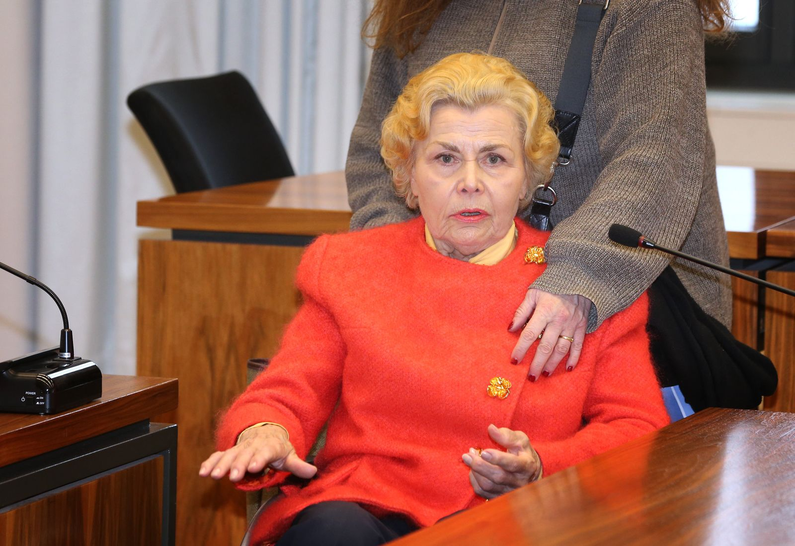 Berufungsverfahren gegen 85 Jahre alte Rentnerin
