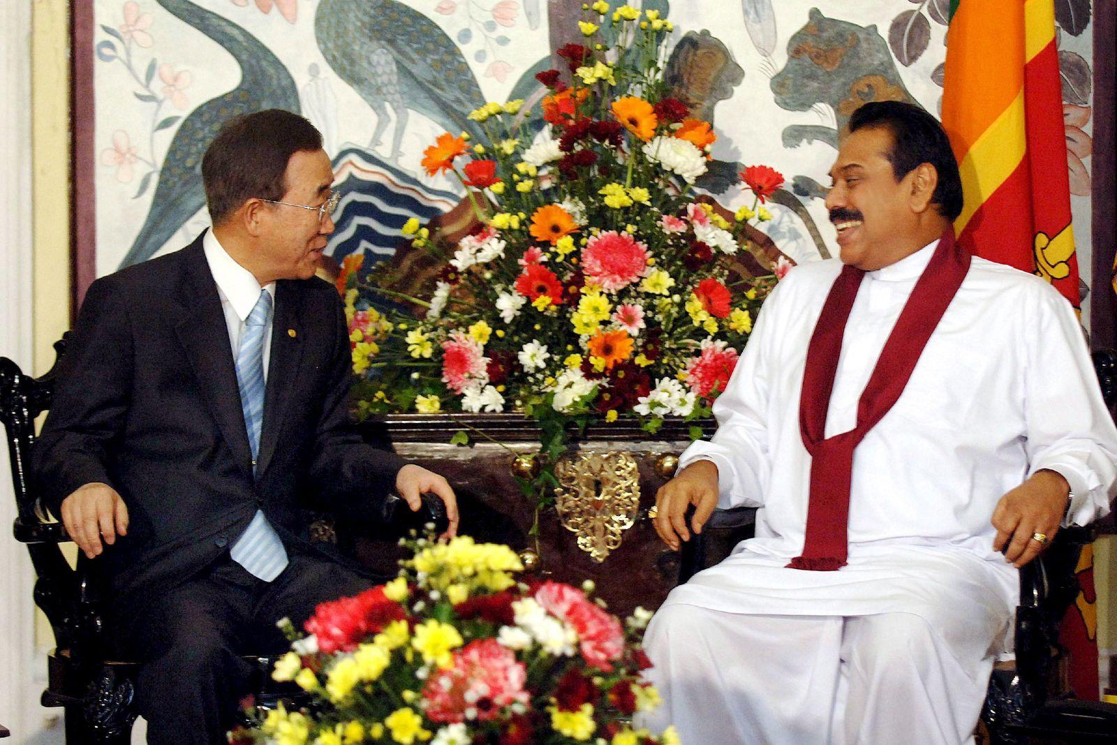 UN-Generalsekretär Ban besucht Sri Lanka