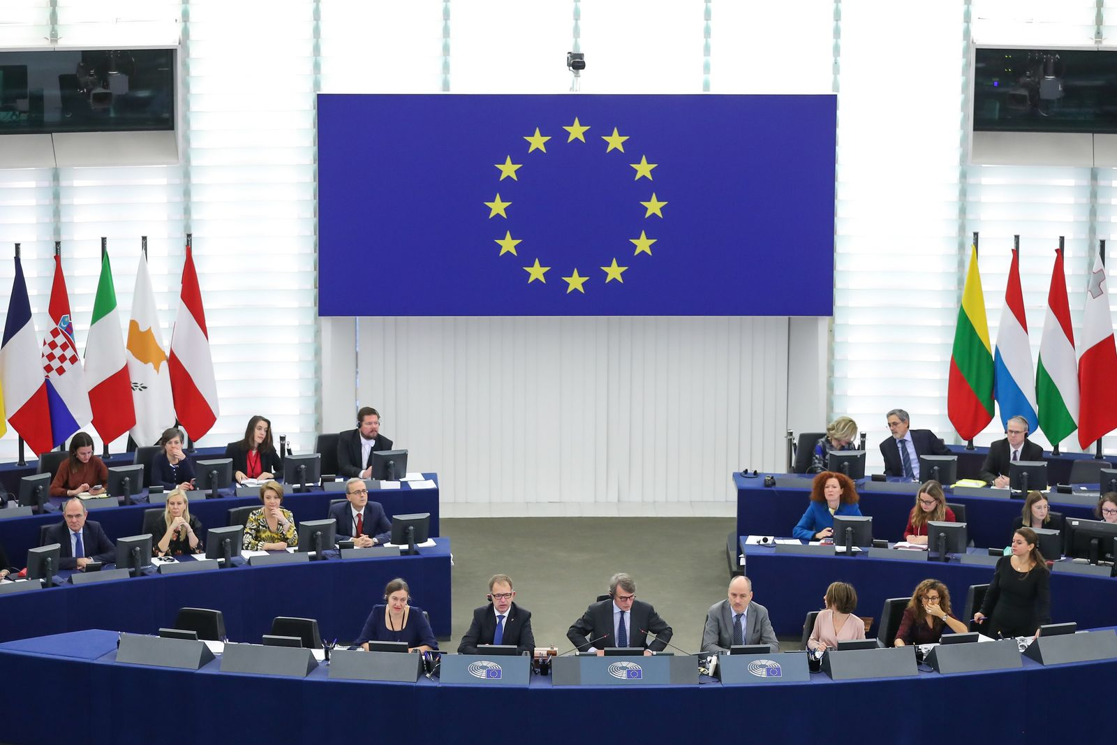 Sitzung Europäisches Parlament - Wahl EU-Kommission