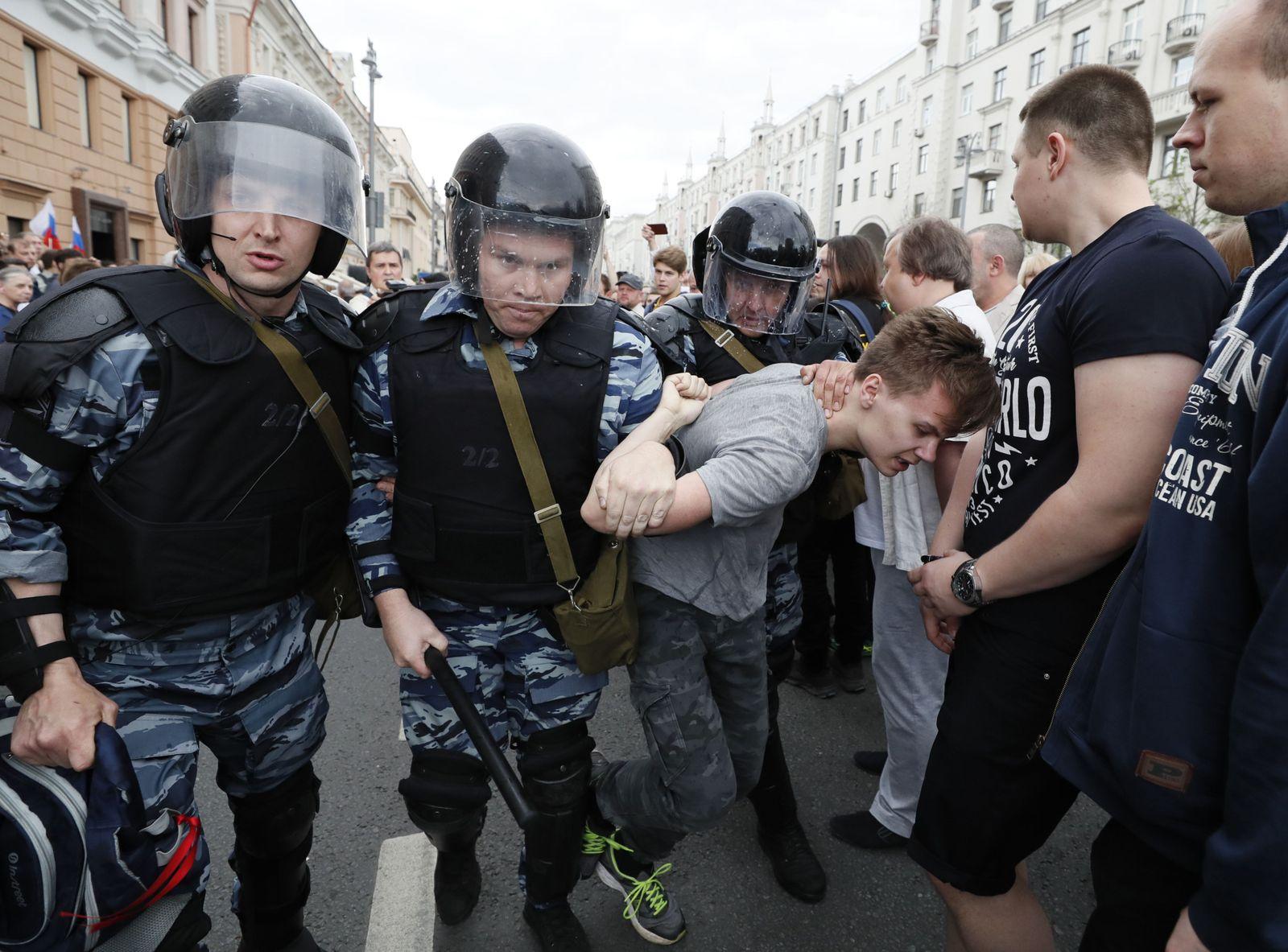 Russland / Nationalfeiertag / Proteste / 12.06.2017