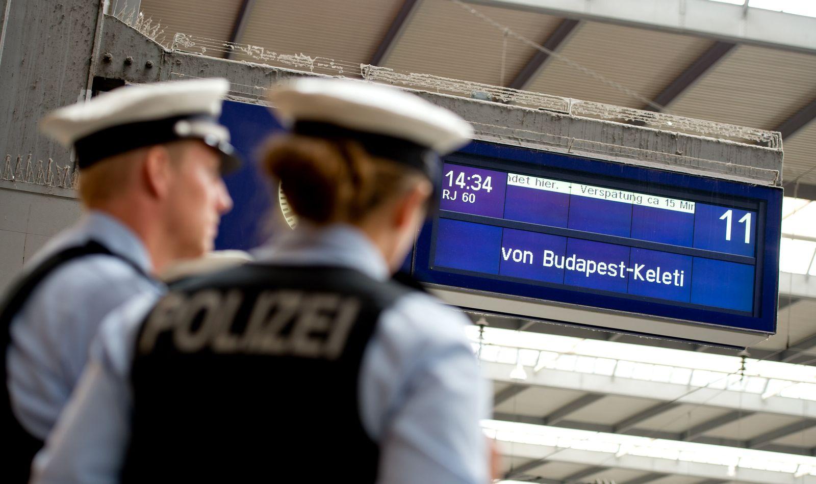bahnhof münchen polizei