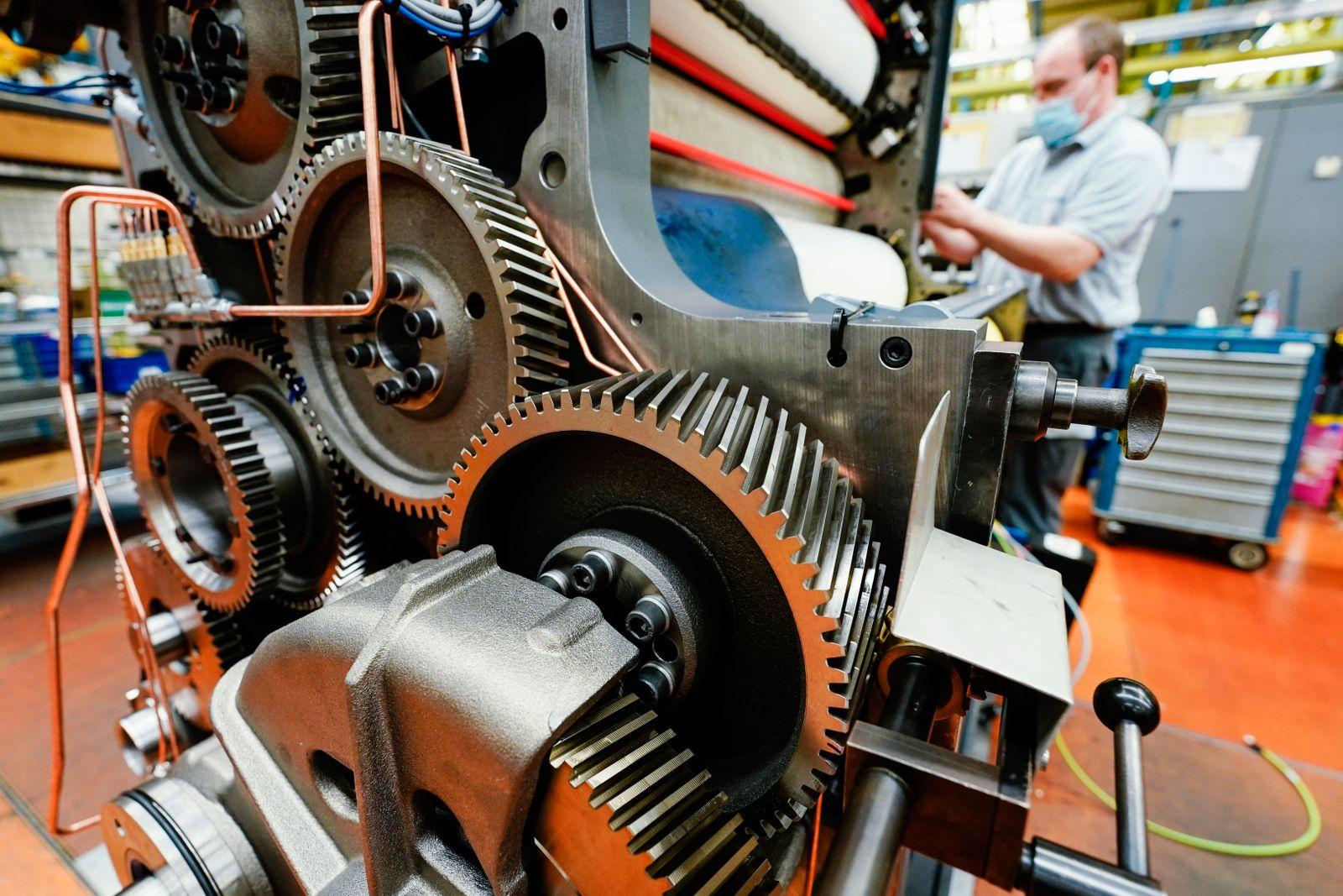 Bestellungen bei Maschinenbauern steigen kräftig