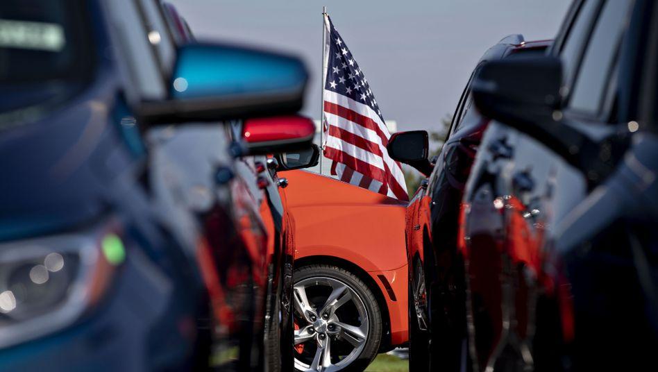 """Autohändler im US-Bundesstaat Illinois: """"Das ist Amerika"""""""