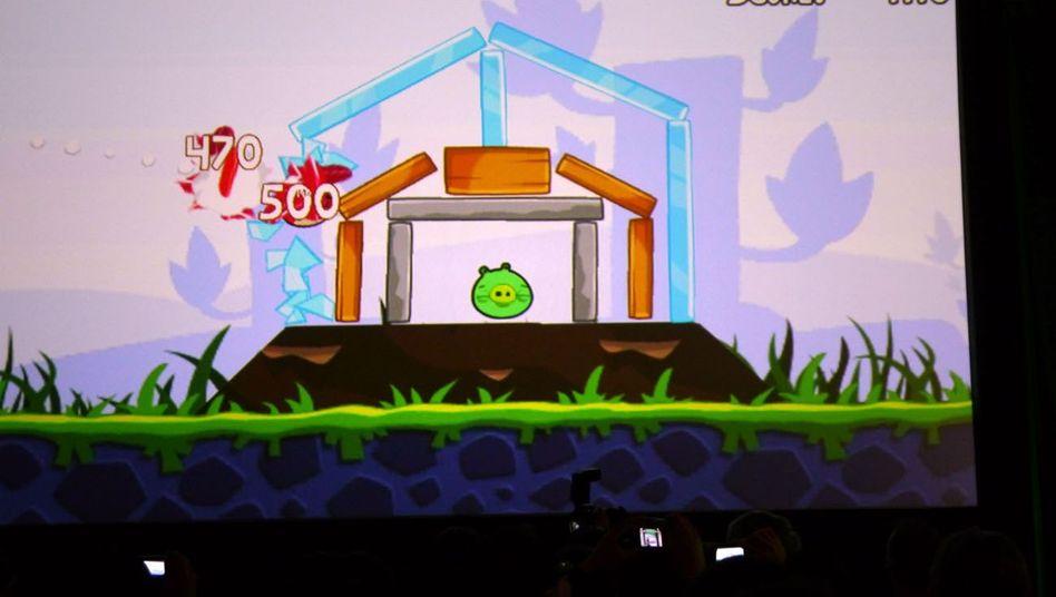 "App-Hit ""Angry Birds"": Aggressive Vögel verkaufen sich bestens"